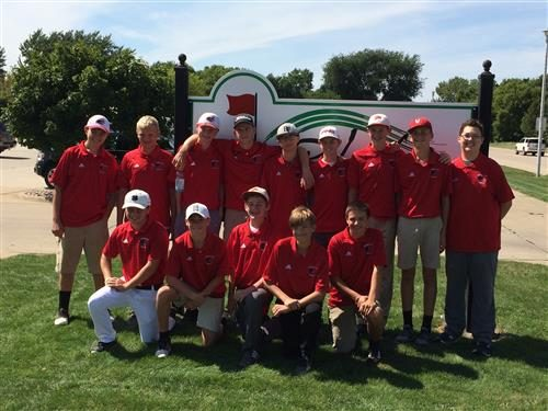 Tanager Golf Competes At Dakota Valley Invite Vermillion School